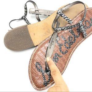 Sam Edelman Shoes - Sam Edelman | Gigi Polka Dot T-Strap Flats